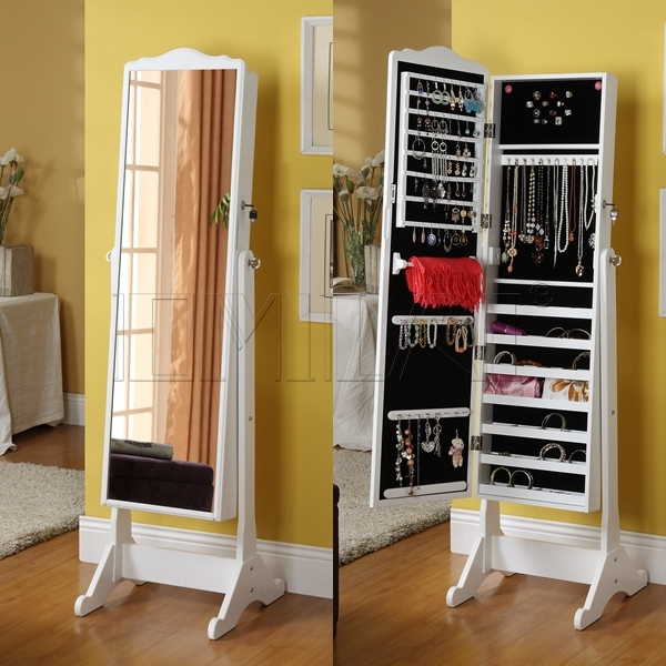 Diy jewelry armoire joy studio design gallery best design - Miroir armoire a bijoux ...