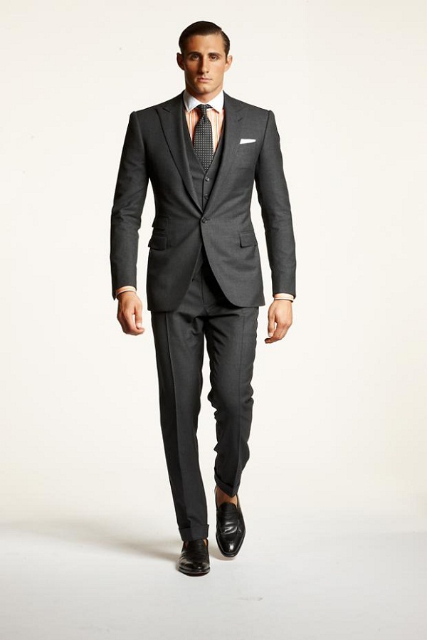 Gray-3-piece-suit-with-pale-orange-winchester-shirt-Polo-2013