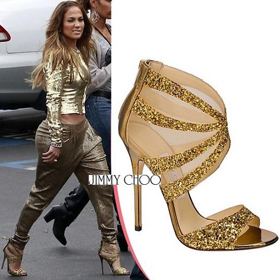 Jennifer-Lopez-glitter-Leila-sandals