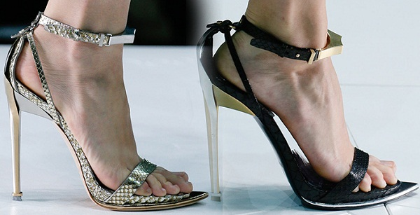 Roberto Cavalli Ankle strap sandals Popular Sale Online Shop Sale Online Outlet Reliable ftB9u01S