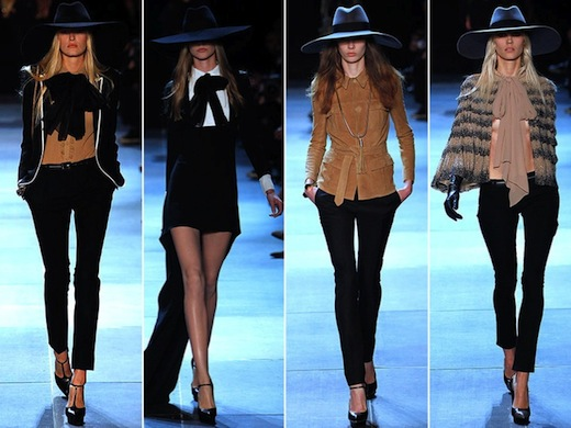 Saint Laurent Spring-Summer 2013 collection