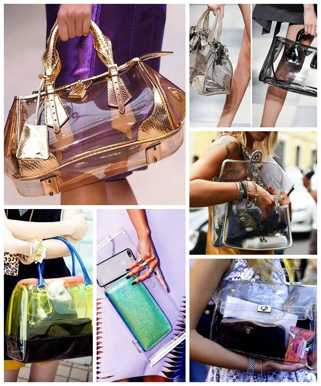 Transparent Handbags