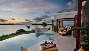 Villa at Caribbean Sea