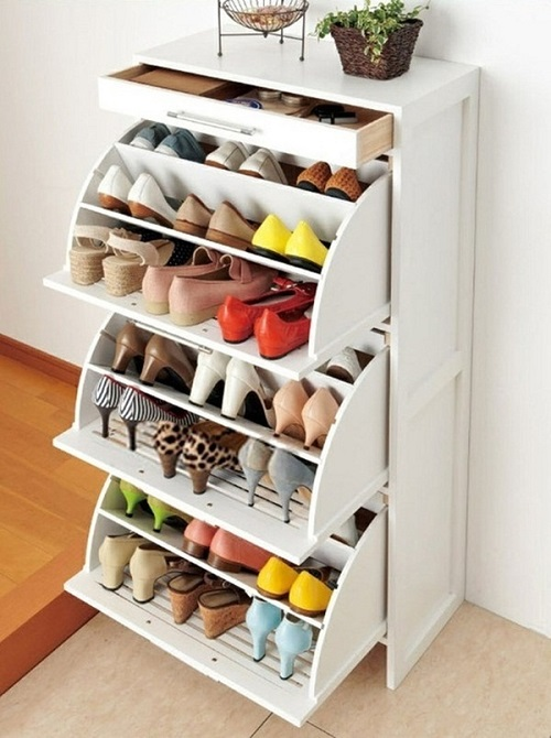 Shoe Storage Small Space Home Design Elements