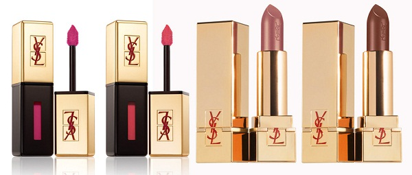 Yves-Saint-Laurent-Summer-2013-makeup-collection-glossy-stain-and-Rouge-Pur-Couture-Golden-Lustre