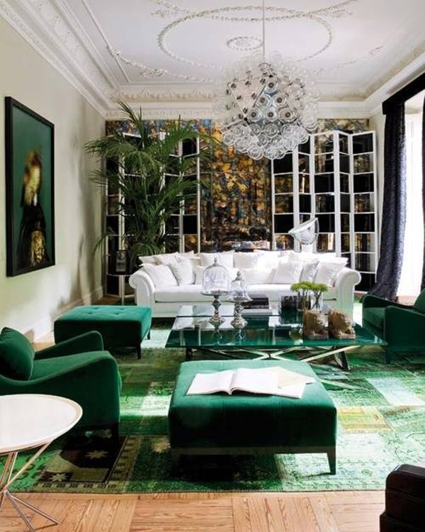 ... emerald-green-decor ...