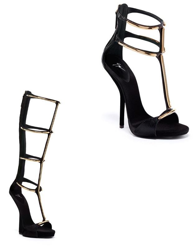 giuseppe-zanotti-heels-2013-black-gold