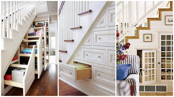 Original under stairs storage space ideas alldaychic for Under stairs drawers plans