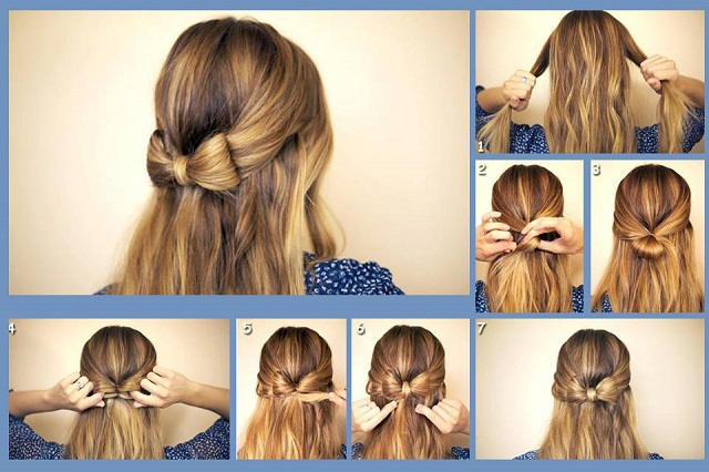 5. Ribbon Hair Bows ~ Make a coordinating hair bow for every outfit with this simple tutorial to loop ribbon. 6. DIY Ribbon Hair Bow ~ All you need for this cute hair bow is ribbon and a button. Think of the endless color combinations. 7. Curly Ribbon Hair Bow ~ Learn the technique to make a corkscrew hair bow from ribbon and wooden dowels. 8.