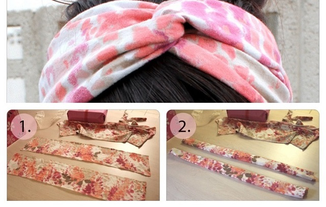 Make Turban Headband Turban Headband Diy