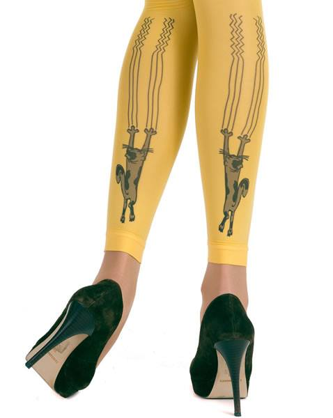 Scratch Cat Leggings
