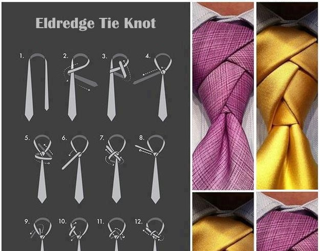 The eldredge tie knot is taking the fashion world by storm alldaychic ccuart Image collections