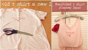 Transform Your T-shirt into a Bag
