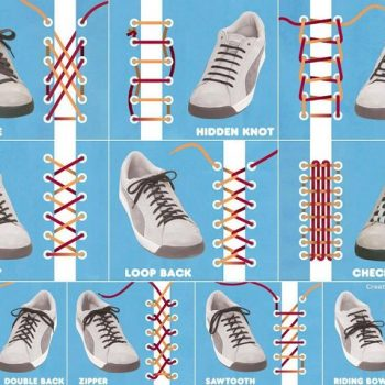 ways to lace up your shoes