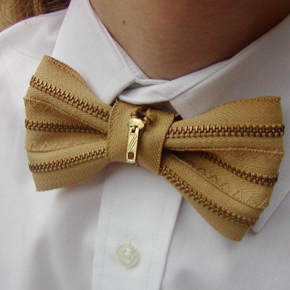 zip bow tie