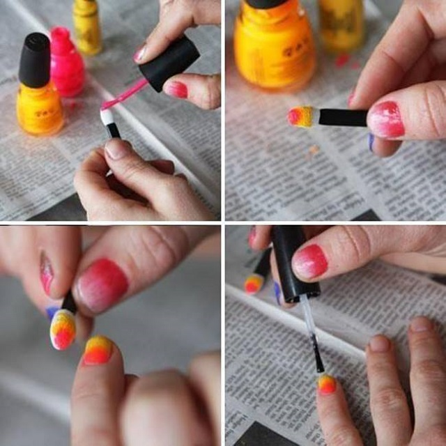 Ombre Nails - DIY