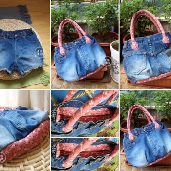 Recycle an Old pair of Jeans into a Chic Tote