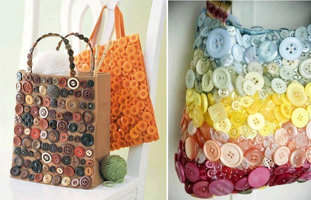 creative idea with buttons