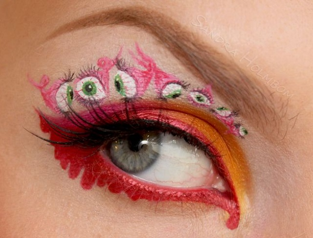 Creative makeup by Sandra Holmbom 10