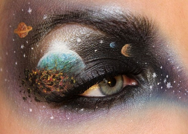 Creative makeup by Sandra Holmbom 1
