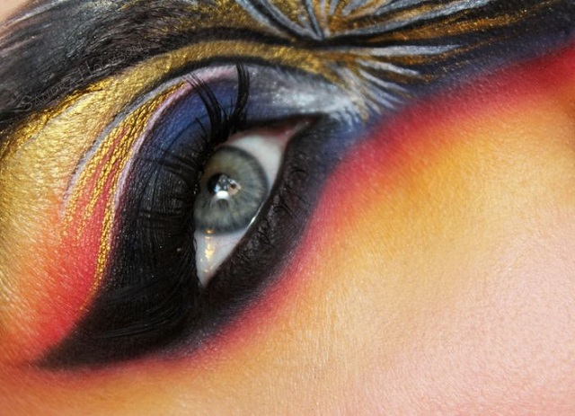 Creative makeup by Sandra Holmbom 2