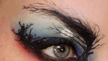 Creative makeup by Sandra Holmbom