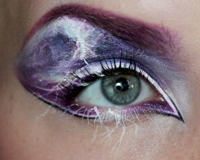Creative makeup by Sandra Holmbom 4