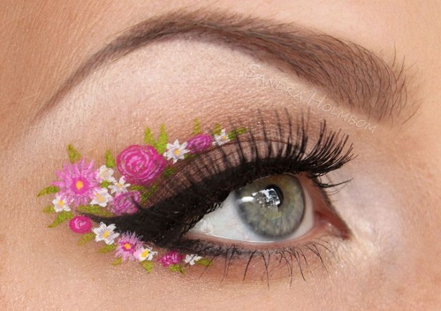 Creative makeup by Sandra Holmbom 5