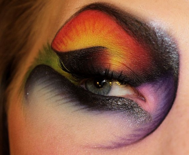 Creative makeup by Sandra Holmbom 7