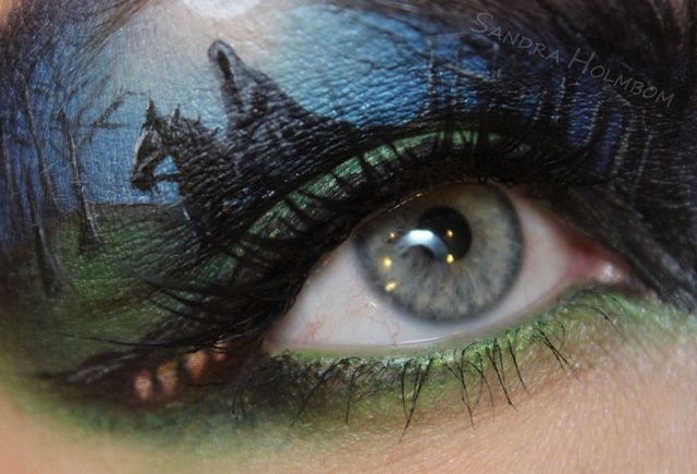 Creative makeup by Sandra Holmbom 9