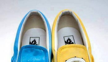 Despicable Me Minions Painted Shoes