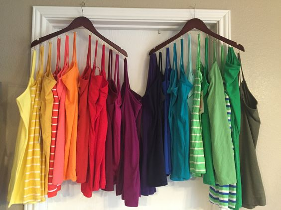 Idea To Organize Tank Tops Alldaychic