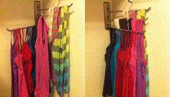 Idea to Organize Tank Tops