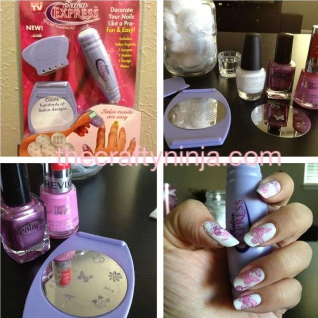 Nail Art Stamping Kit Alldaychic