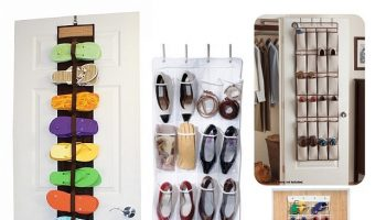 Over The Door Shoe Rack Organizer