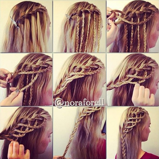 Amazing Hairstyle Rope Braid Alldaychic