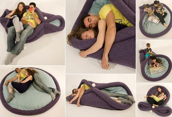 Transformable pad for lazy living