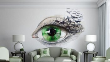 Vinyl Wall Mural from The Collection Phantasmagories 1