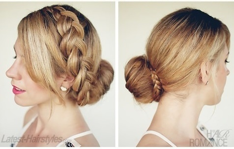 Awesome Donut Bun With Braid Around It Braids Hairstyles For Women Draintrainus