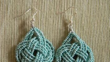 diy beads earrings