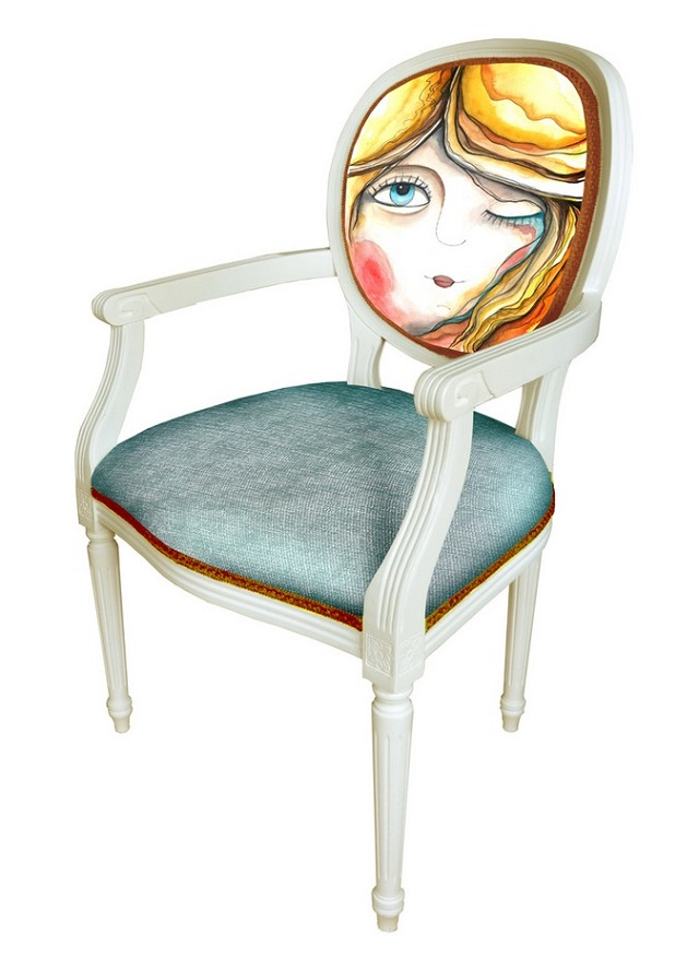 Chairs With Quirky Characters Melancholy-02