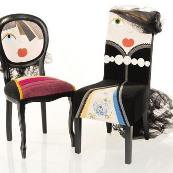 Chairs With Quirky CharactersChairs-Miss-One-Miss-Due
