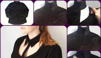 Cut Out Shirt for a Chic Look – DIY