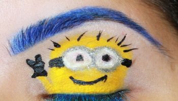 Despicable Me 2 Makeup Look 1