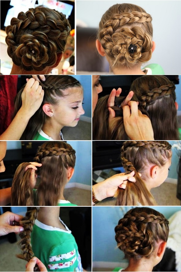 Dutch Braid Hairstyles For Long Hair images