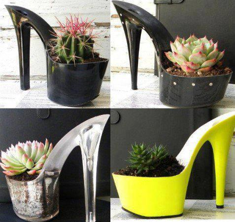 High Heel Flower Pots Alldaychic