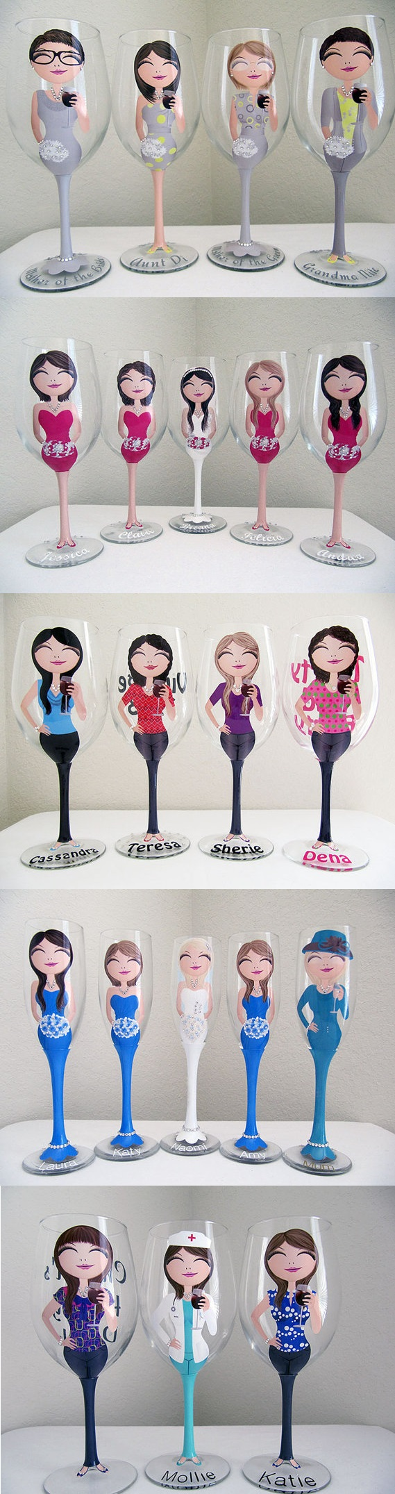 Personalized Wine Glasses 1