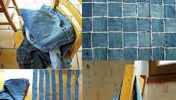 Reuse Old Jeans to Make a New Handbag – DIY