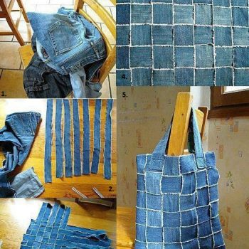 Reuse Old Jeans to Make a New Handbag – DIY