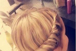Ringlet Headband Hairstyle